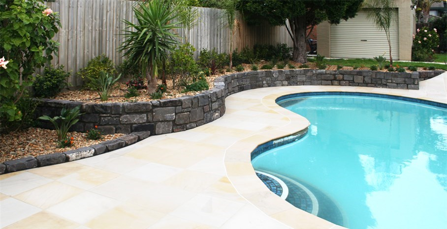 Landscape design and construction ingardens landscaping for Pool designs victoria