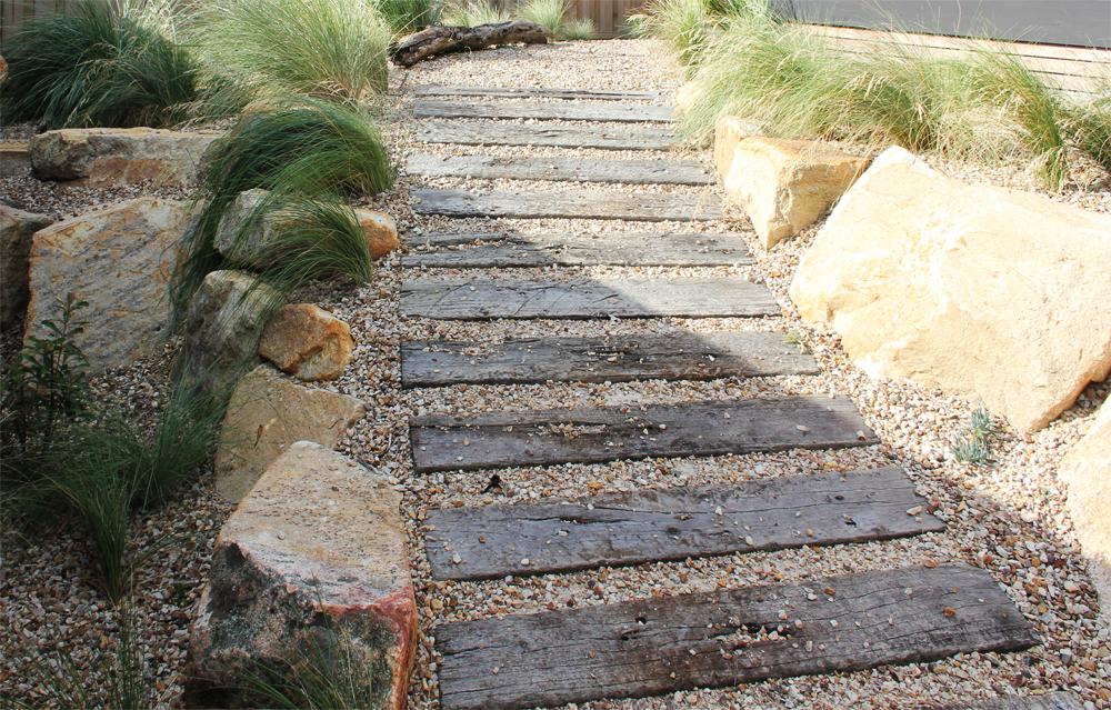 Walkways Paths Side Of House Stone Pathways