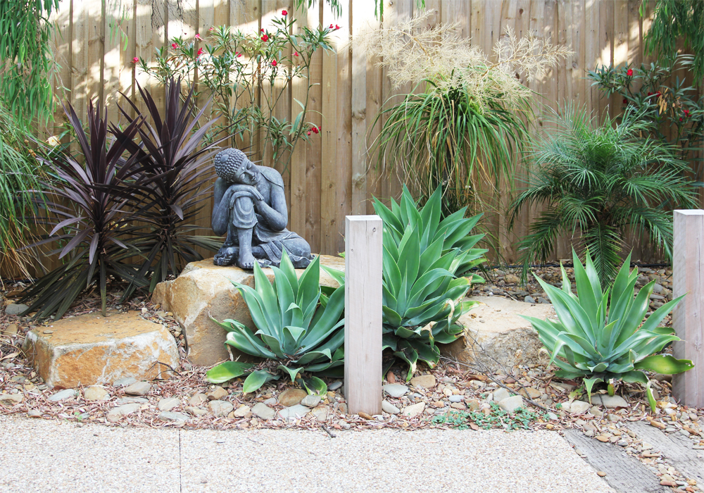 Beachside garden design ingardens landscaping for Front garden design ideas melbourne